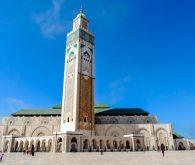 Casablanca in njena čudovita mošeja Hassan II.