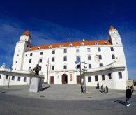 Kratek sprehod po Bratislavi
