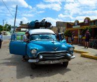 700 km s 60 let starim avtom do Cienfuegosa