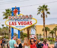 Čez Dolino smrti v mesto greha, Las Vegas